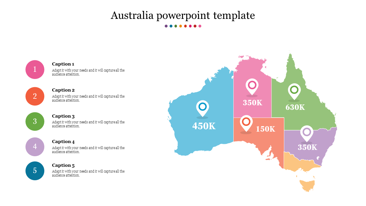 Animated australia powerpoint template
