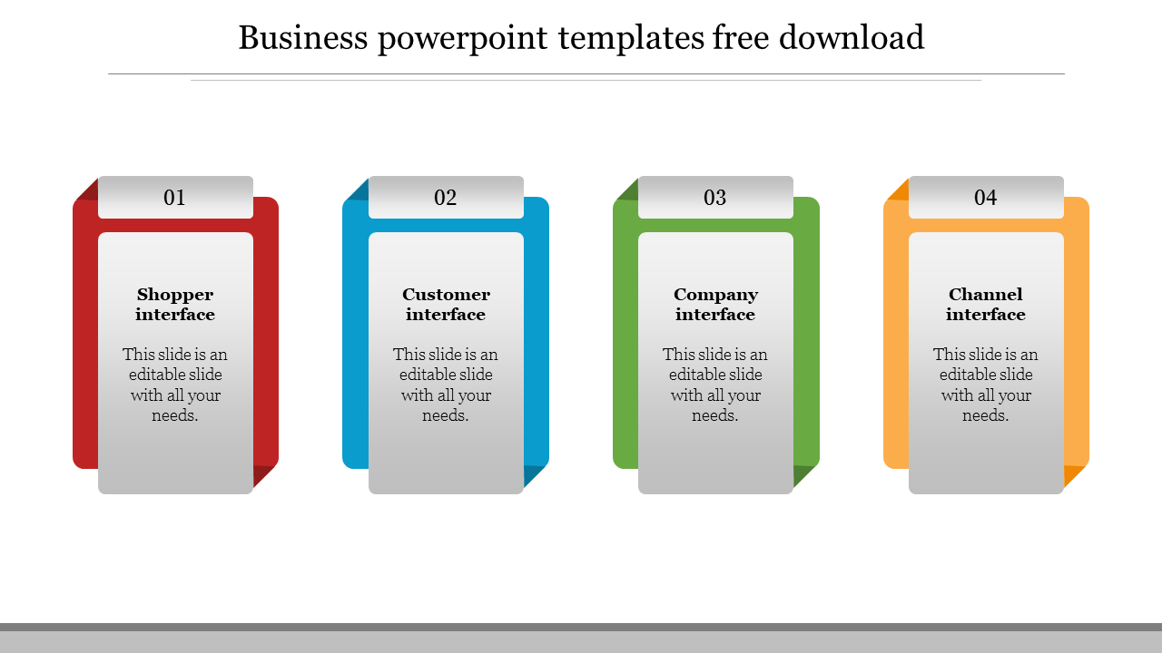 Business Powerpoint Templates Free Download Slideegg