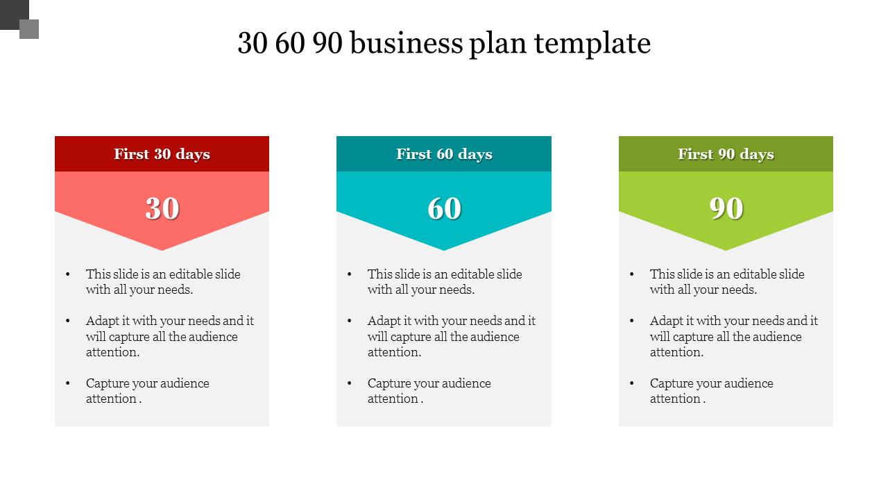 90 business plan