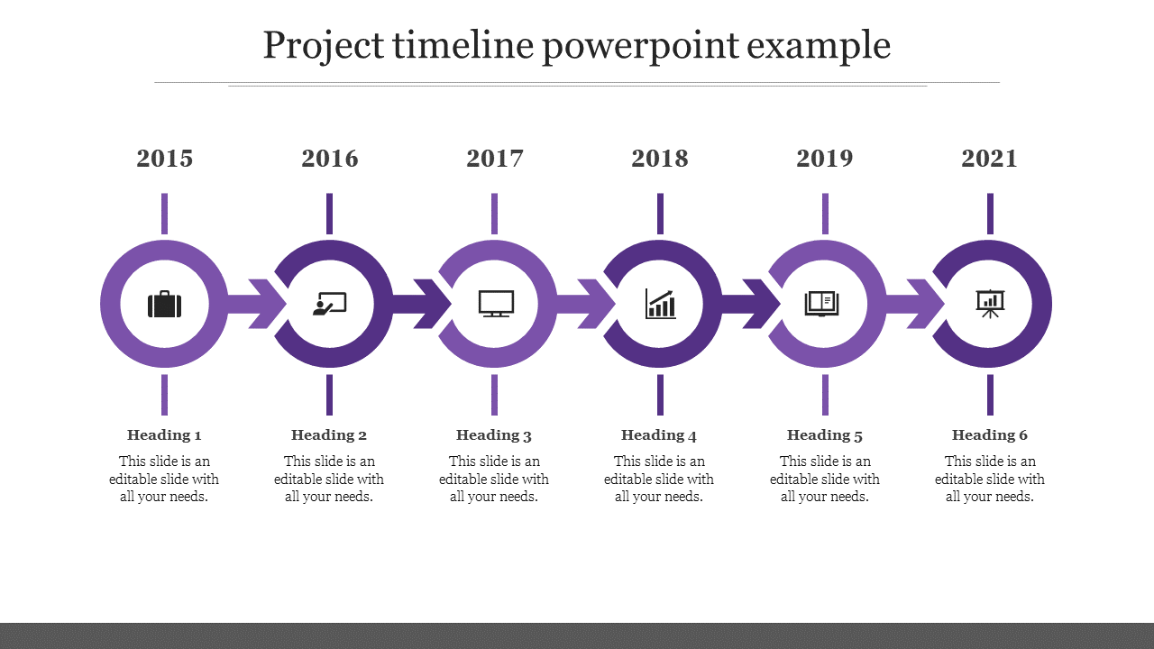 Project Timeline Powerpoint Example
