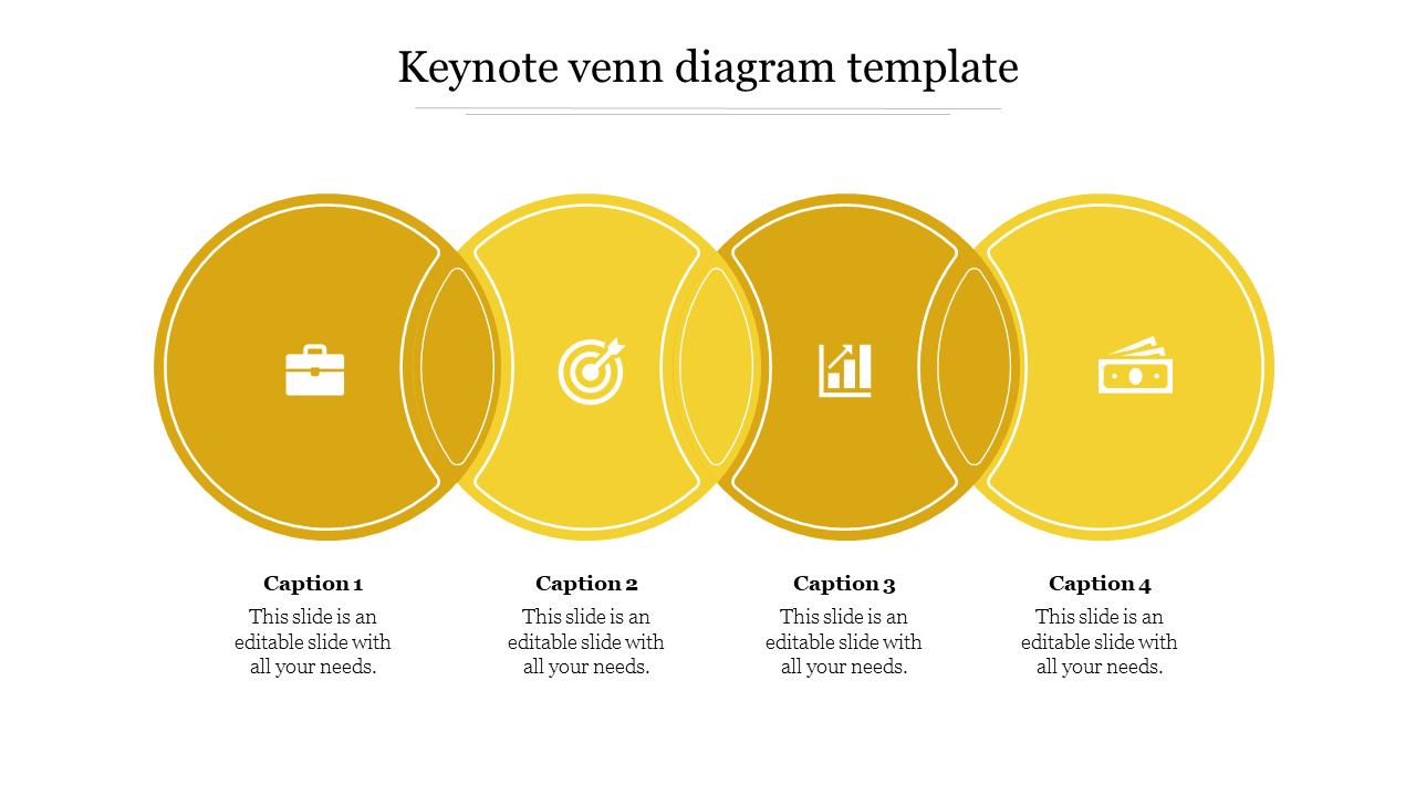 Free Keynote Venn Diagram Template Design Slideegg