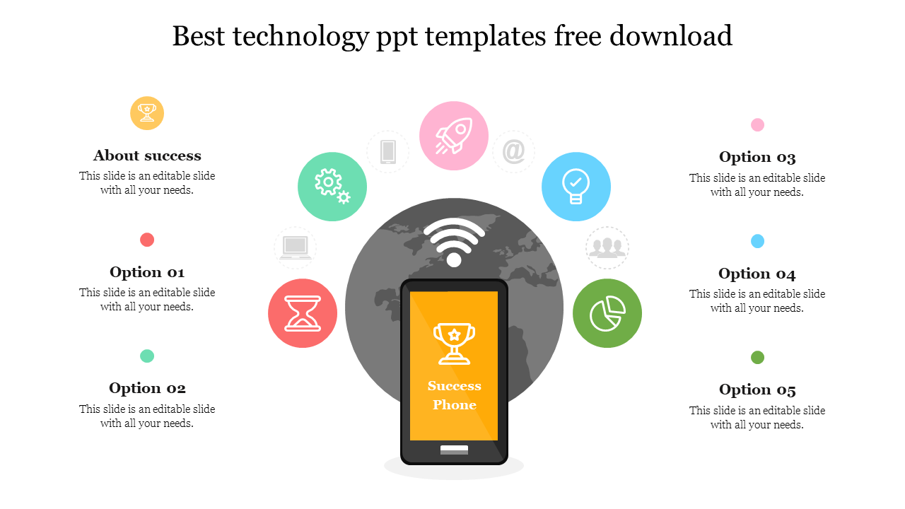 Best Technology Ppt Templates Free Download Slideegg