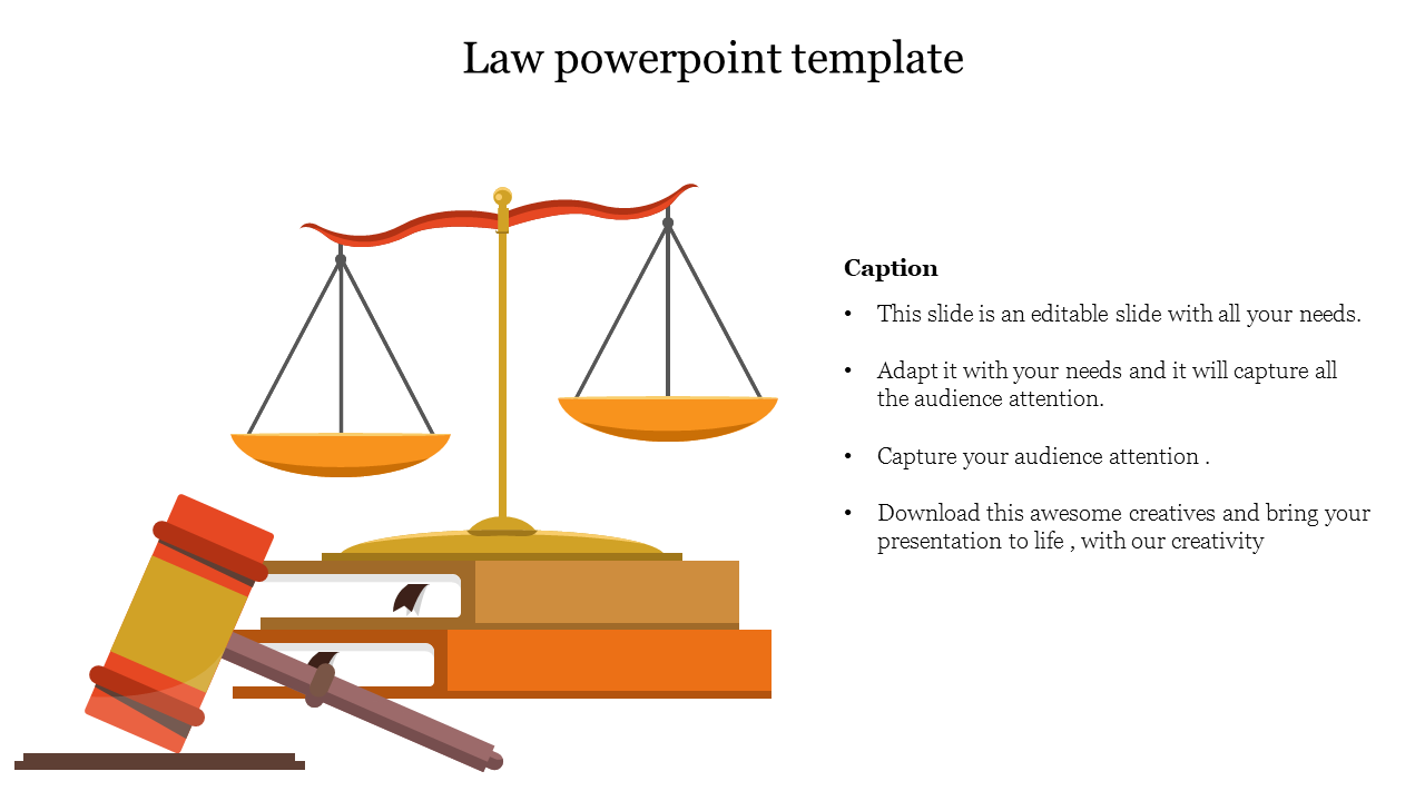 Free Free Law Powerpoint Template