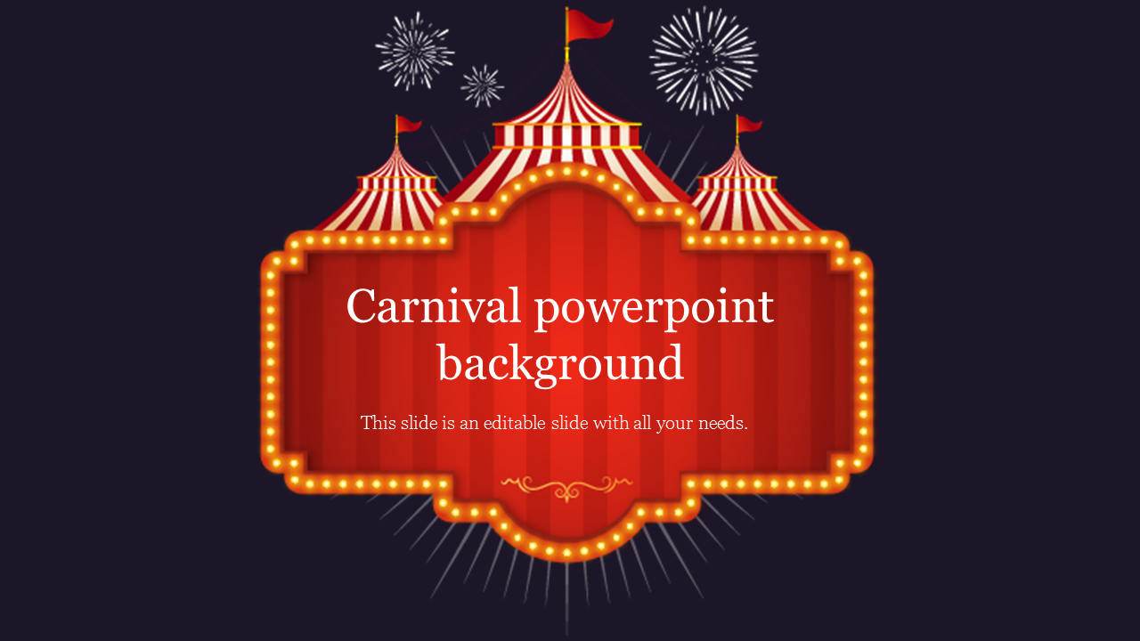 Carnival powerpoint background