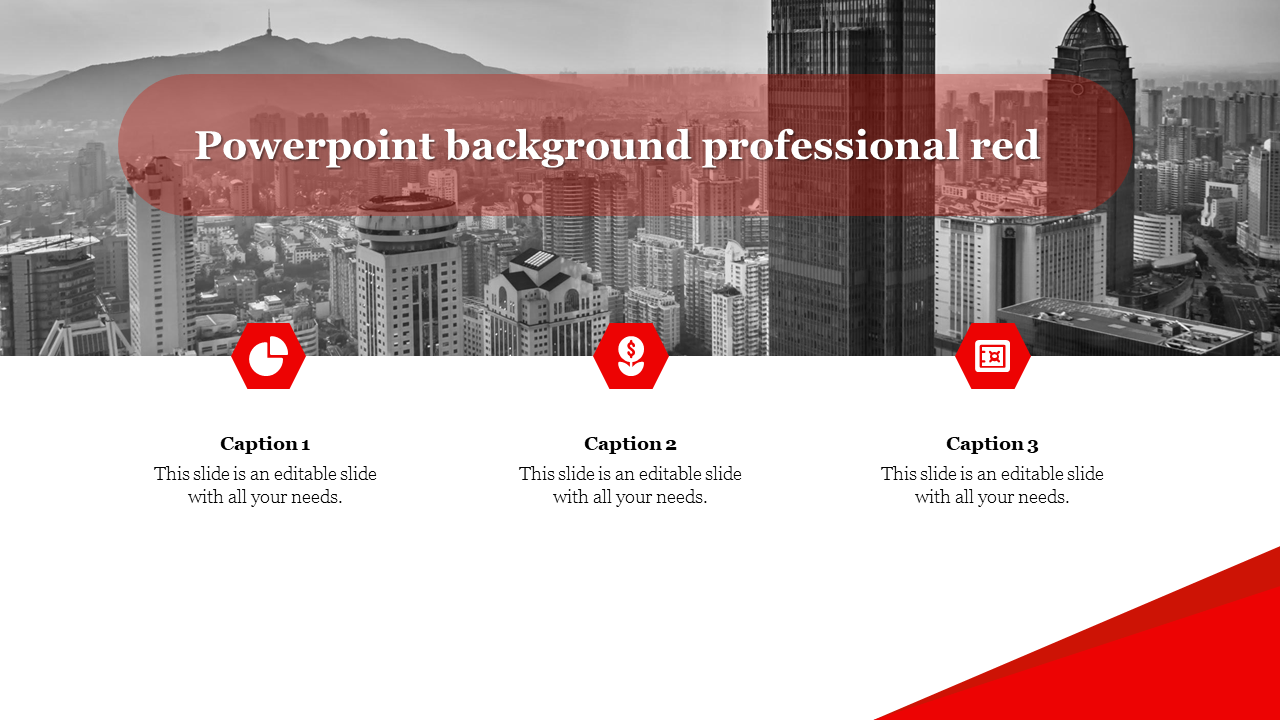 Free free Best powerpoint background professional red