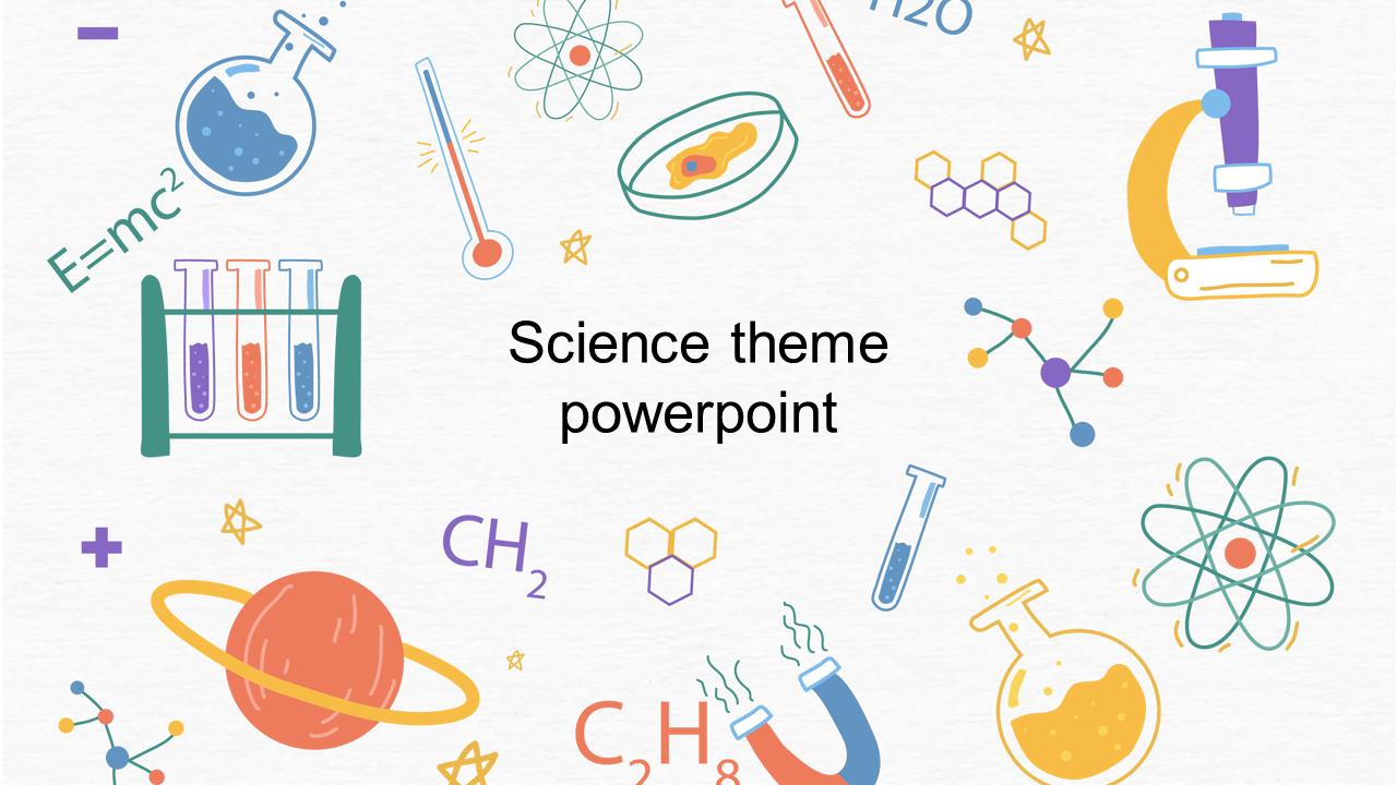 Science Theme Powerpoint Presentaion Slideegg