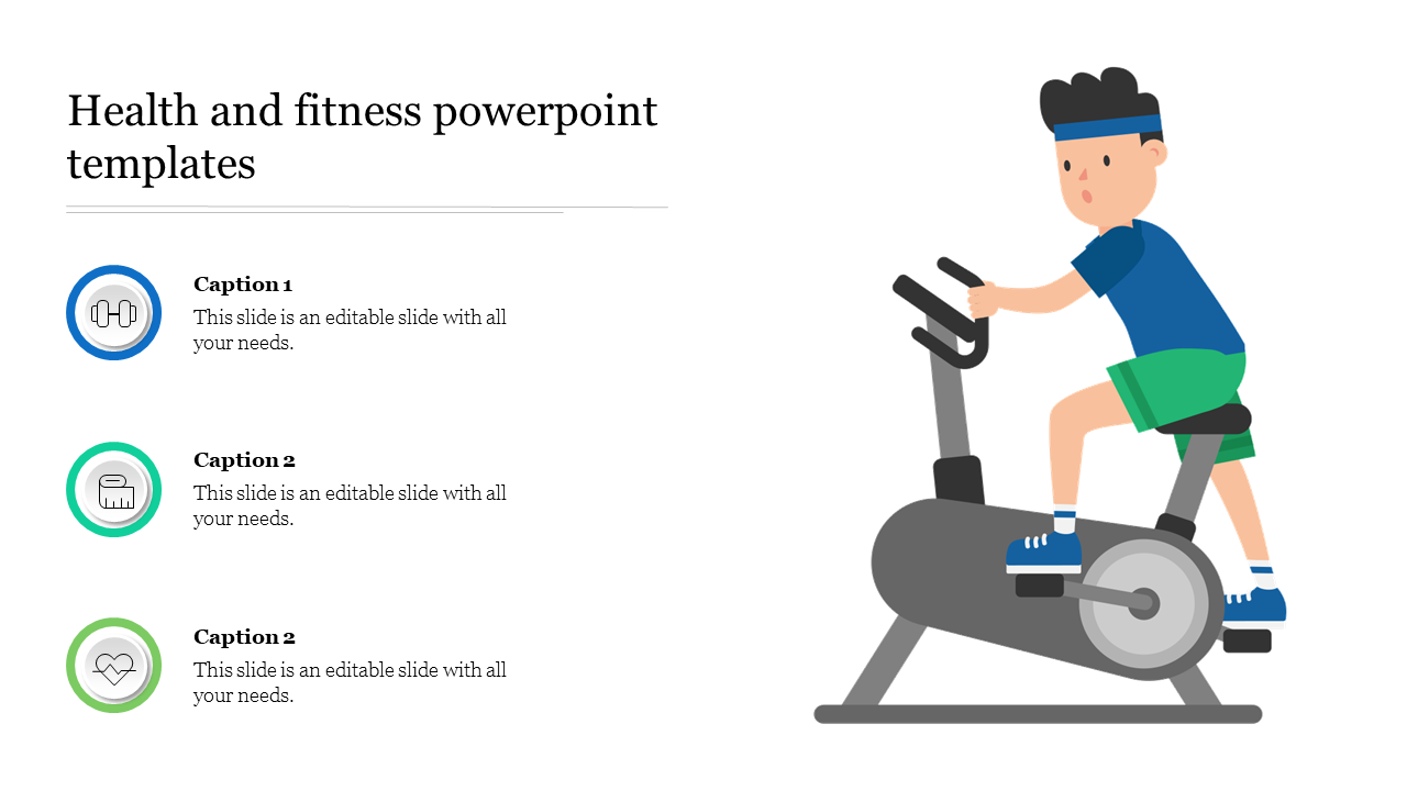 Health And Fitness Powerpoint Templates Slideegg