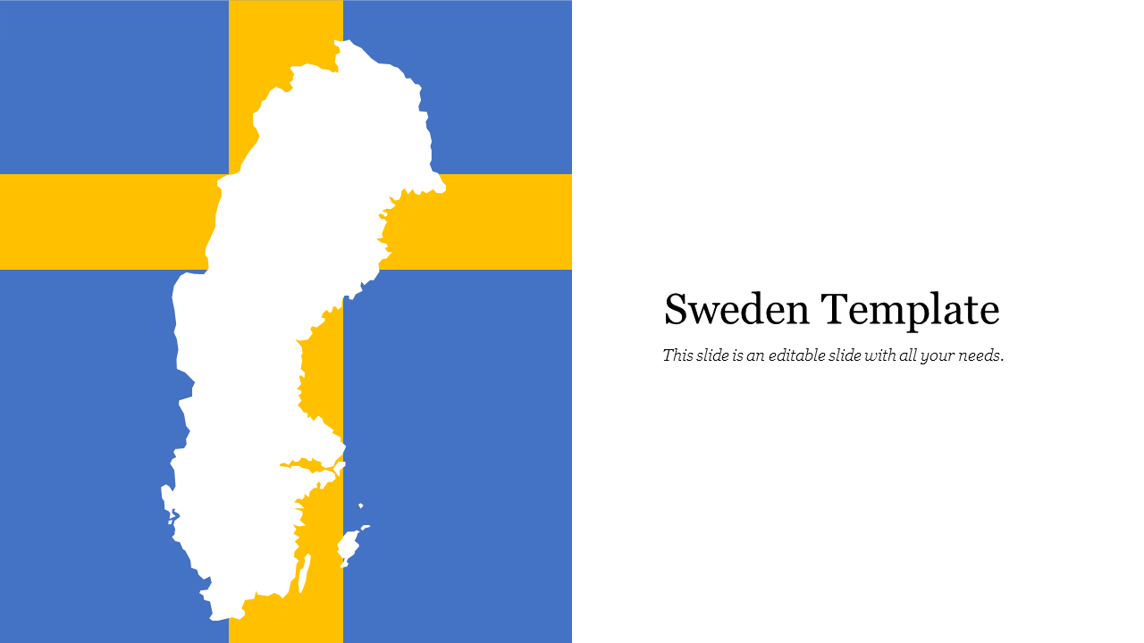 Sweden Template For Presentation