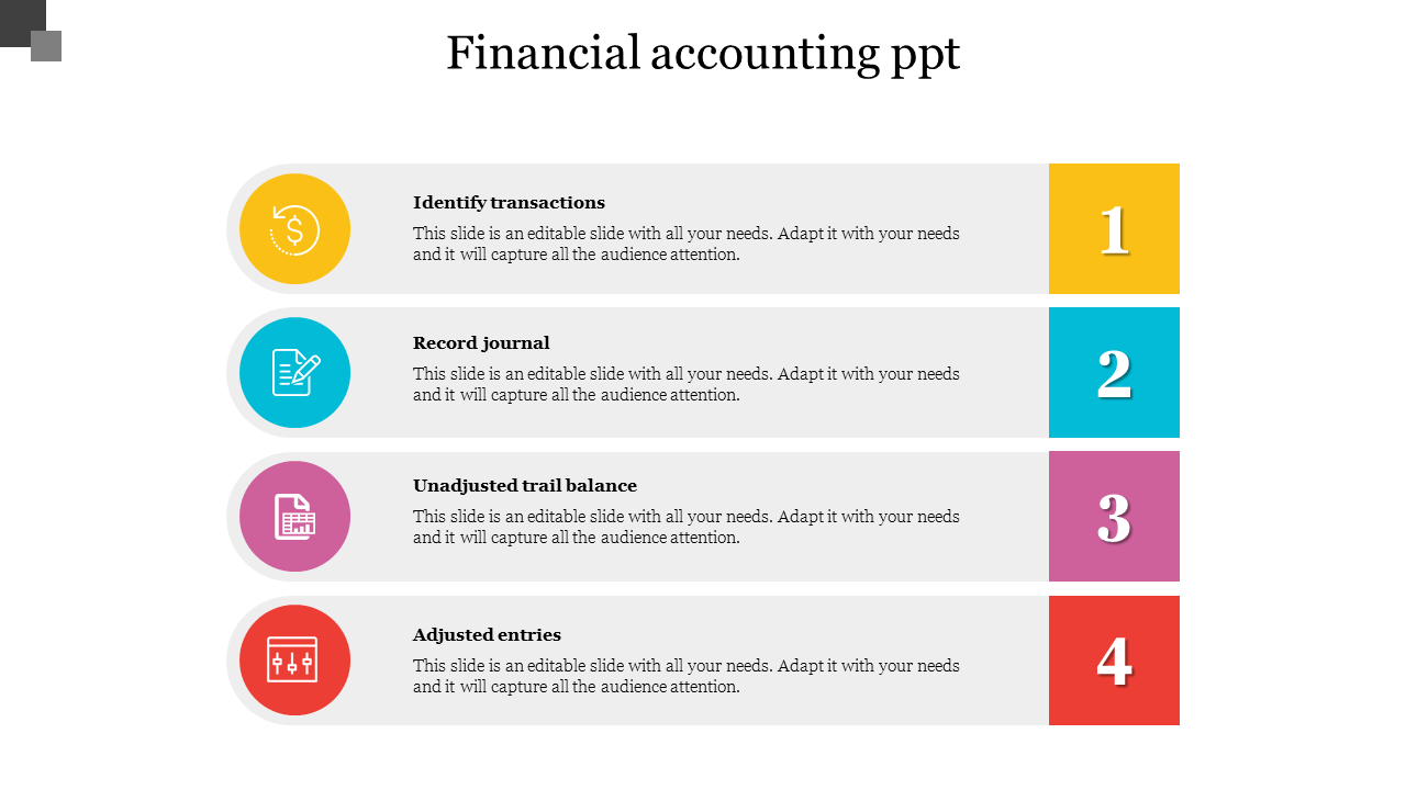 Editable Financial Accounting PPT