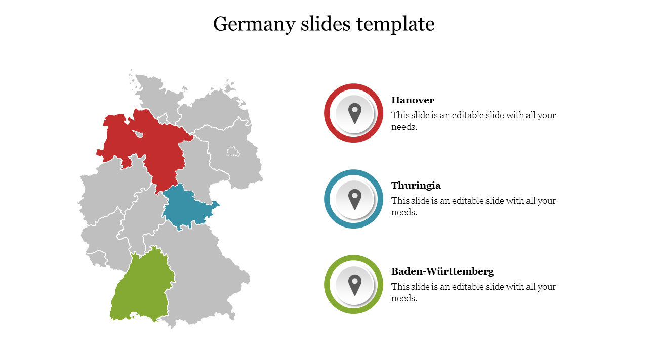 Germany Slides Template Design