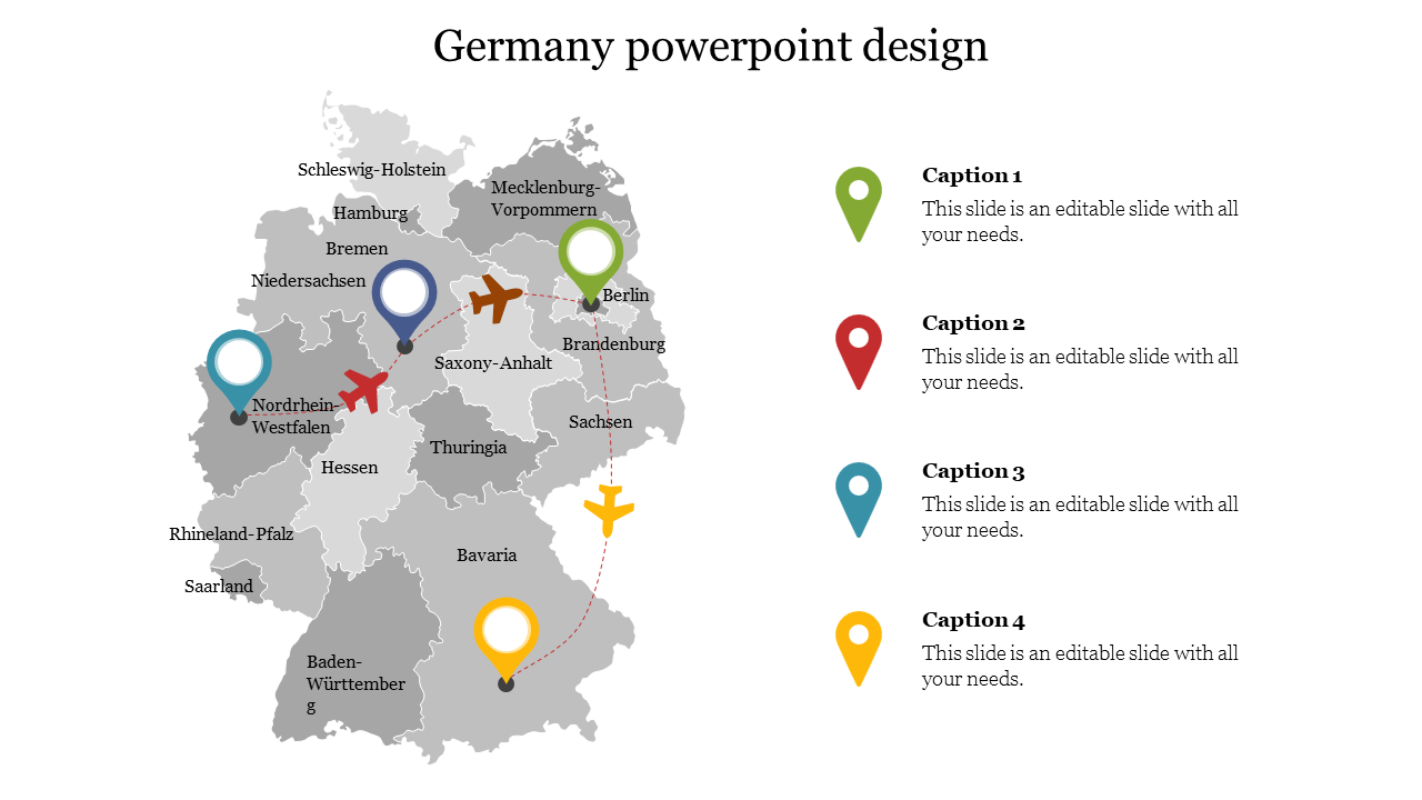 Creative Germany Powerpoint Design