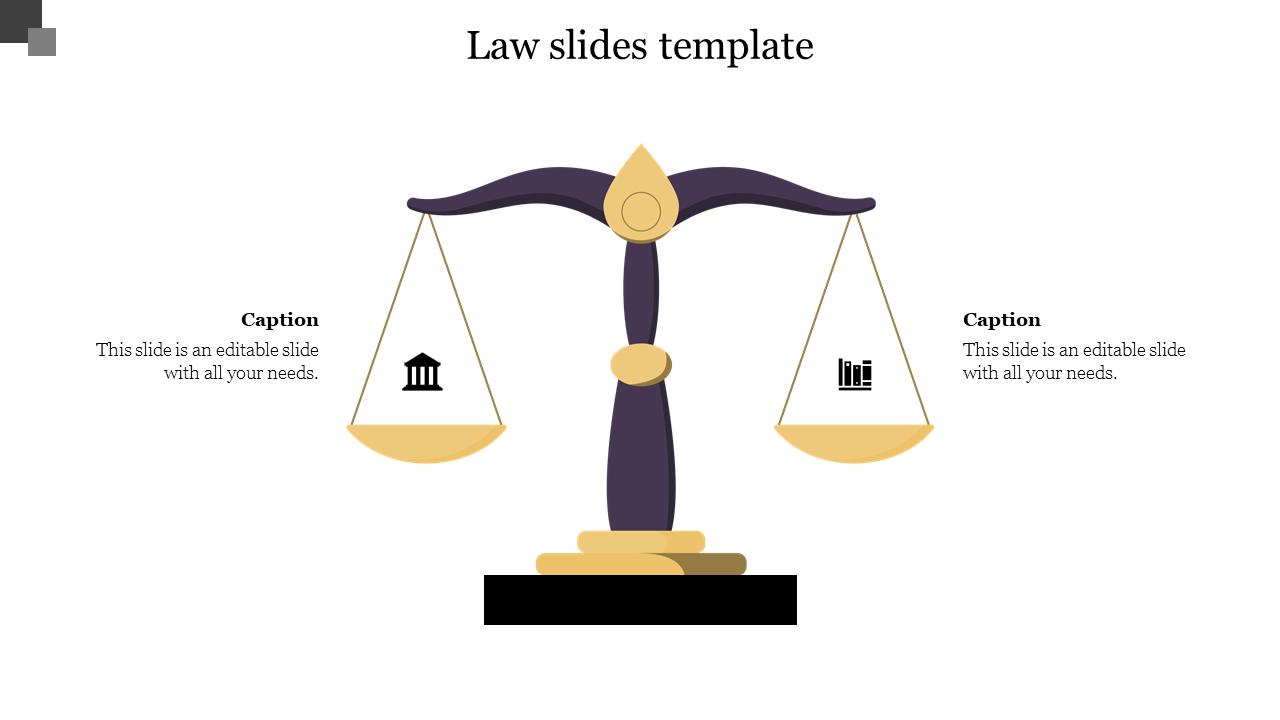 Best Law Slides Template