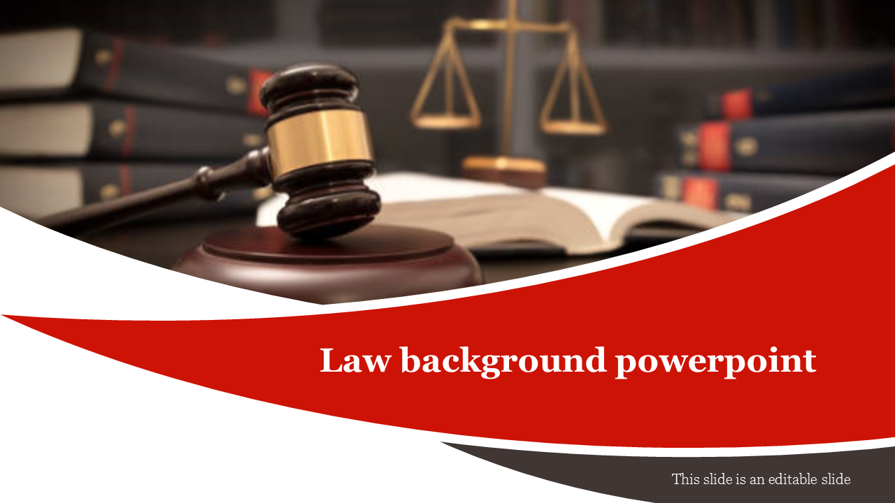 Law Background Powerpoint