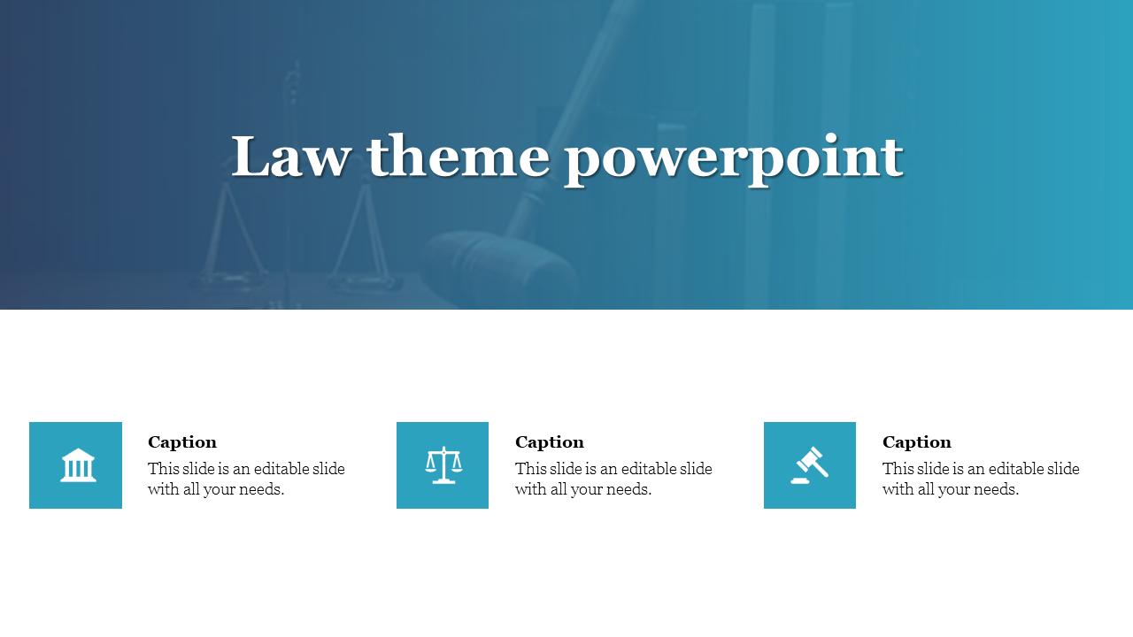 Creative Law Theme Powerpoint