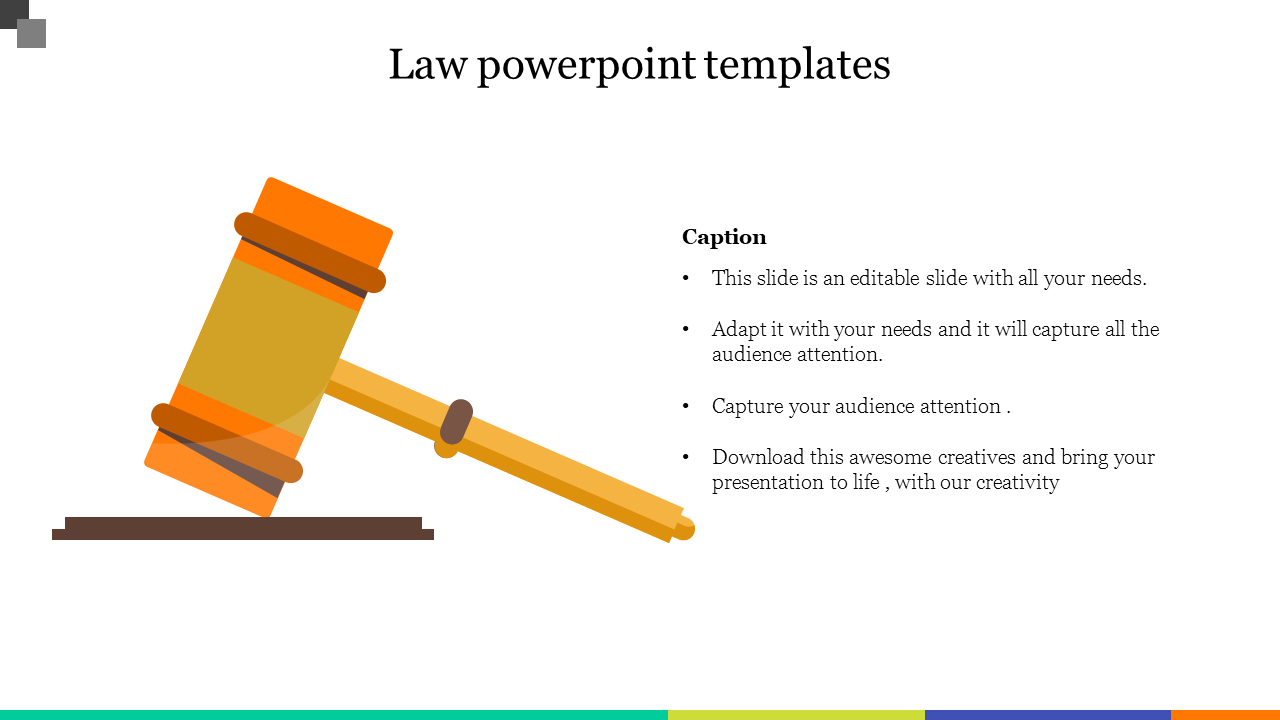 Innovative Law Powerpoint Templates