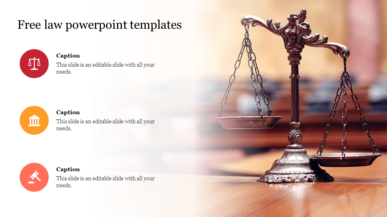 Free Law Powerpoint Templates Design