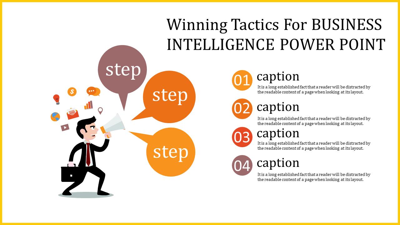 Amazing Business Intelligence Power Point Slideegg