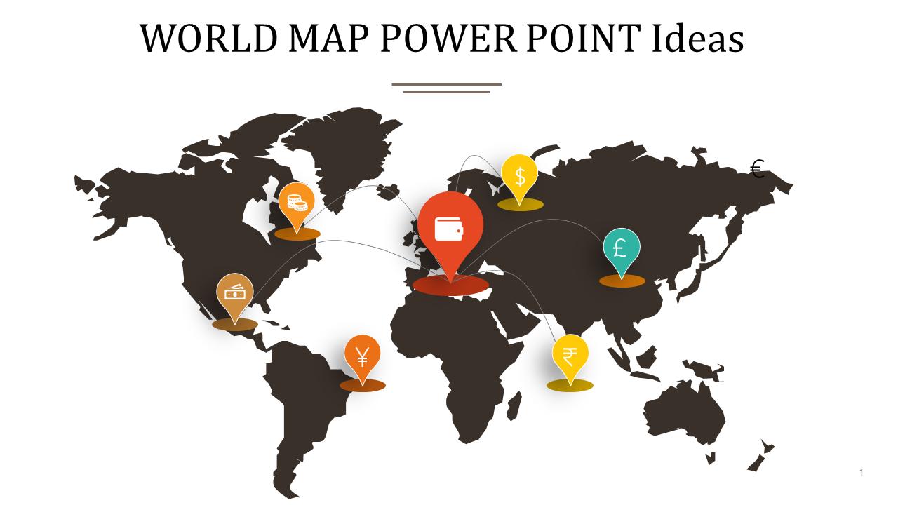 SlideEgg | world map power point-WORLD MAP POWER POINT