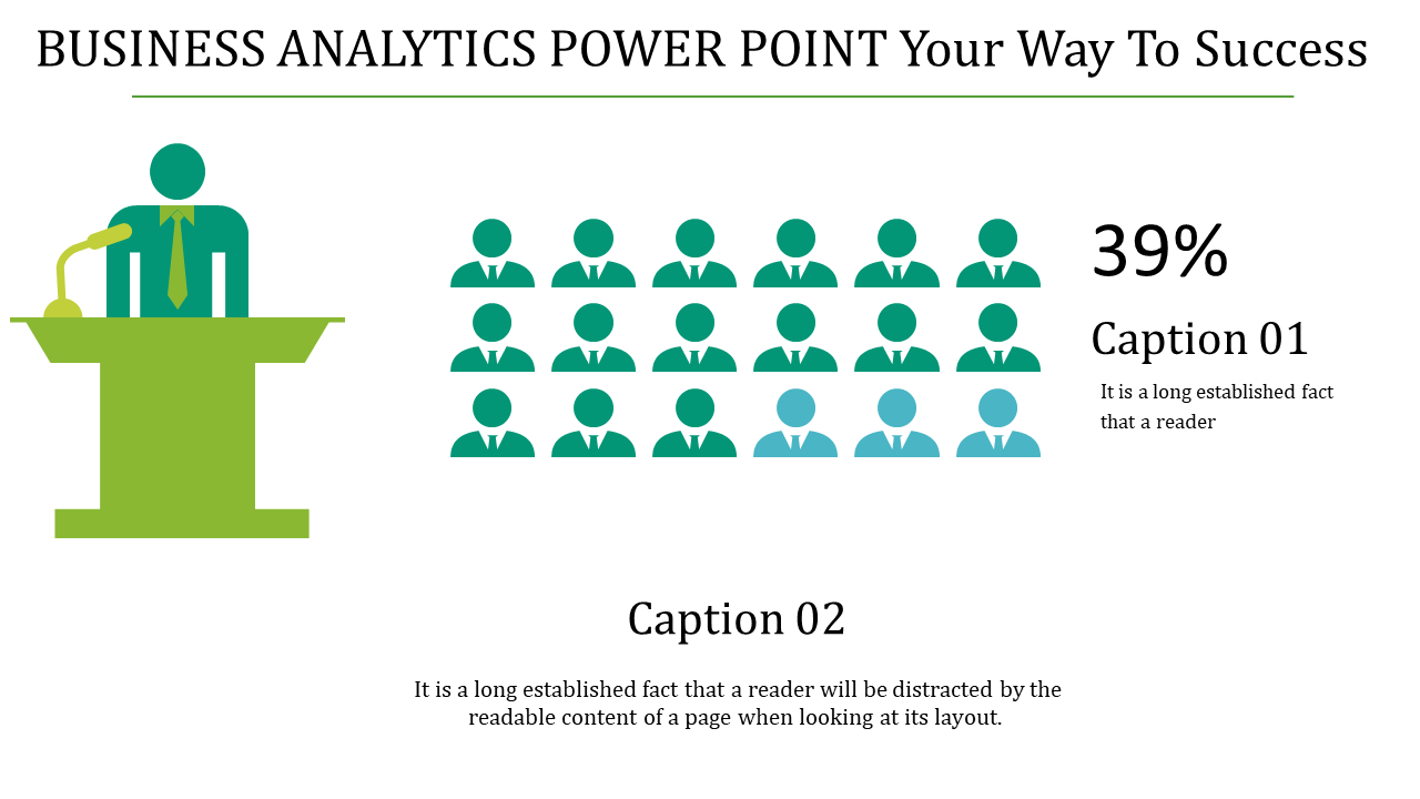 Business Analytics Power Point Of Growths