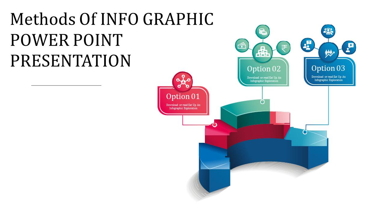 Infographic Power Point Presentation - 3D Arc Shape
