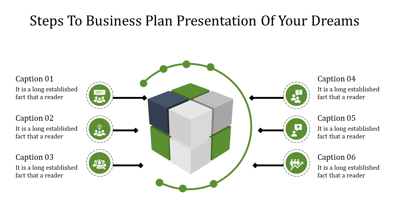 A Six Noded Business Plan Powerpoint