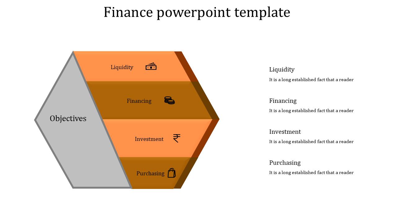 Safety Box Finance Powerpoint Presentation Four Orange