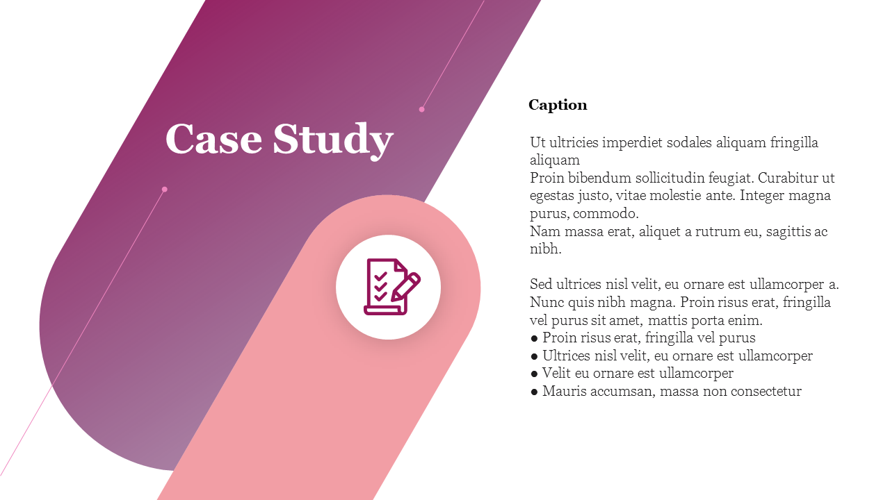 A Three Noded Case Study Powerpoint Slides