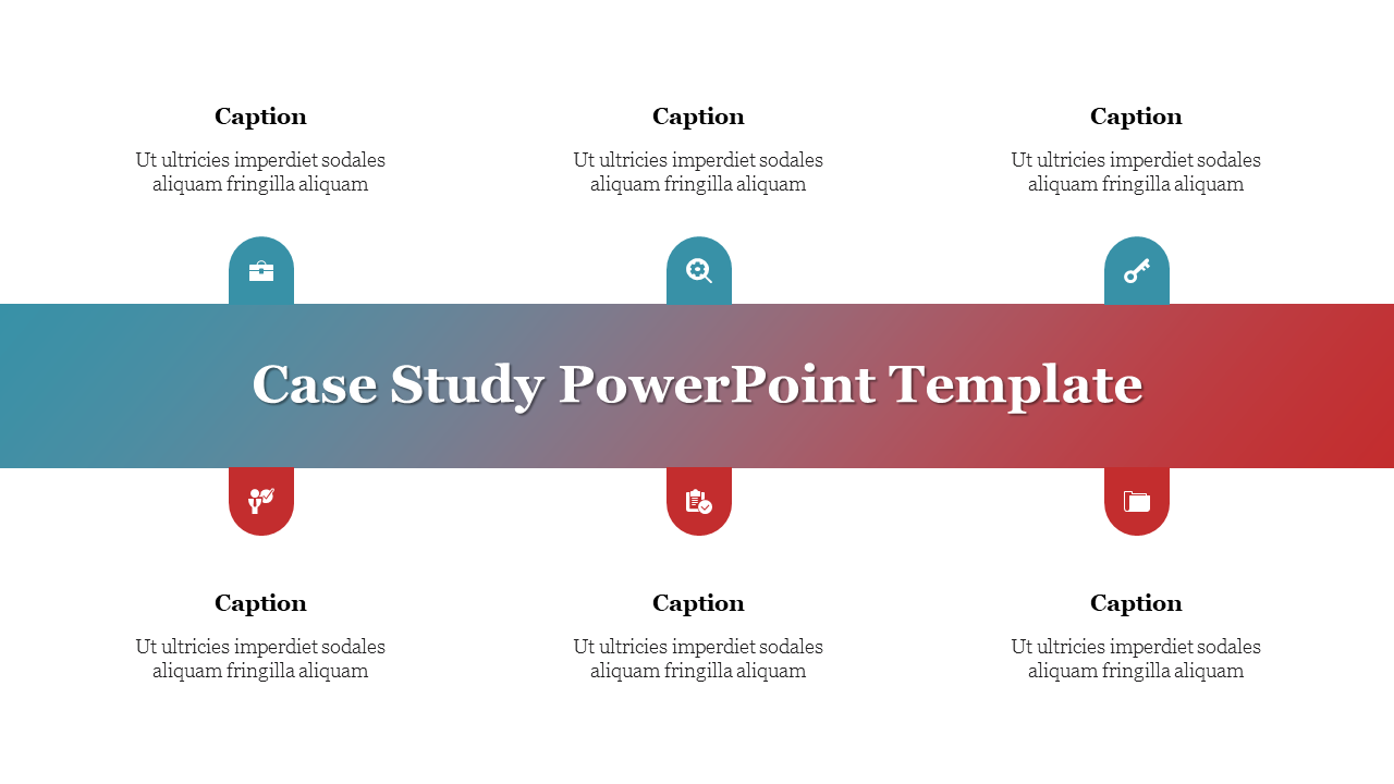 A Four Noded Case Study Powerpoint Presentation Format