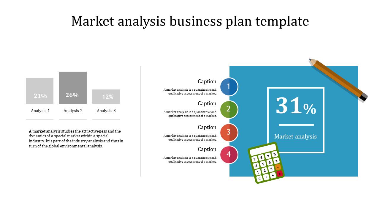 Quality Market Analysis Business Plan Template Slideegg