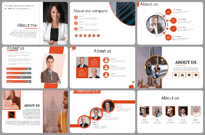 About Us Powerpoint Templates