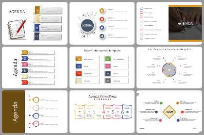 Agenda Powerpoint Templates