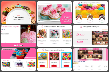 Bakery Powerpoint Templates