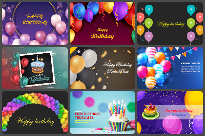 Birthday Powerpoint Templates