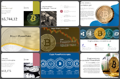 Bitcoin Powerpoint Templates