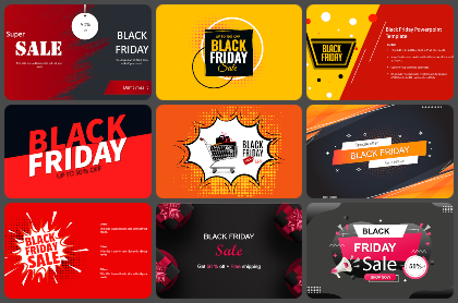 Black Friday Powerpoint Templates