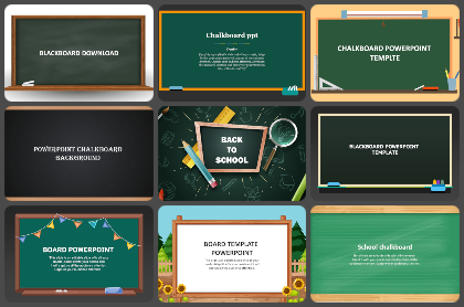 Blackboard Powerpoint Templates