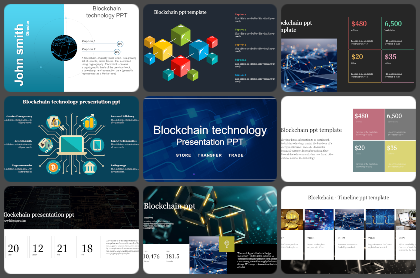 Blockchain Powerpoint Templates