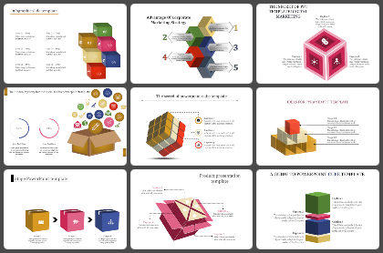 Boxes Powerpoint Templates