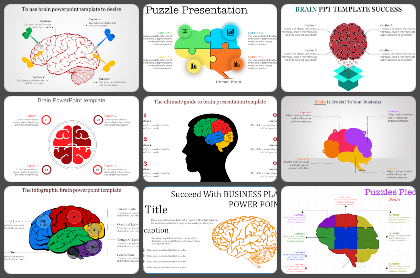 Brain Powerpoint Templates