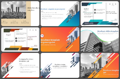 Brochure  Powerpoint Templates