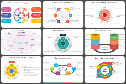Business Ecosystem Powerpoint Templates