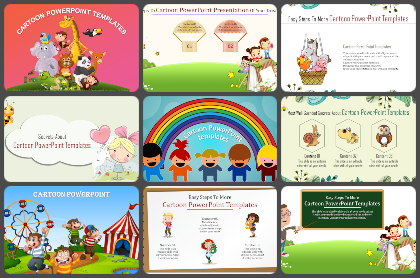 Cartoon Powerpoint Templates