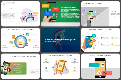 Chatbot Powerpoint Templates