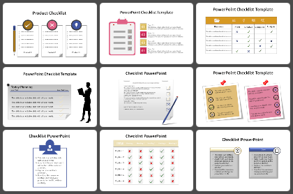 Checklist Powerpoint Templates
