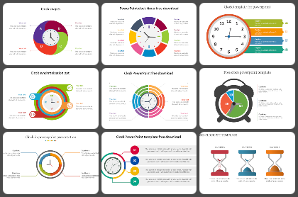 Clocks Powerpoint Templates
