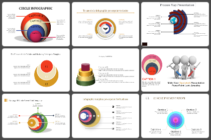 Concentric Powerpoint Templates
