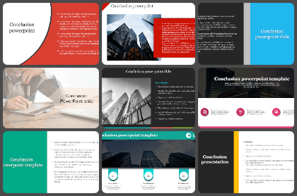 Conclusion Powerpoint Templates
