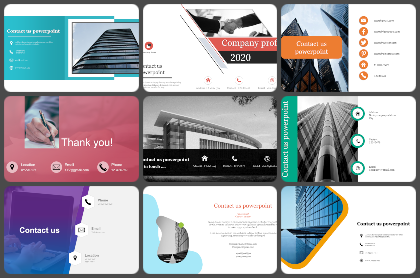 Contact us Powerpoint Templates