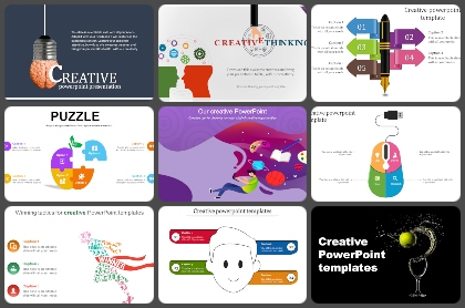 Creative slides Powerpoint Templates