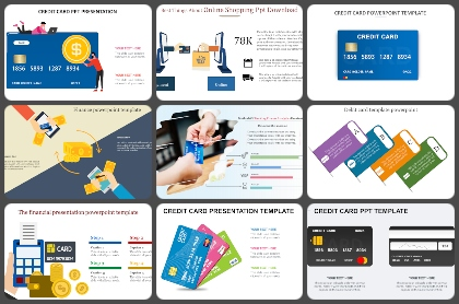 Credit Card Powerpoint Templates